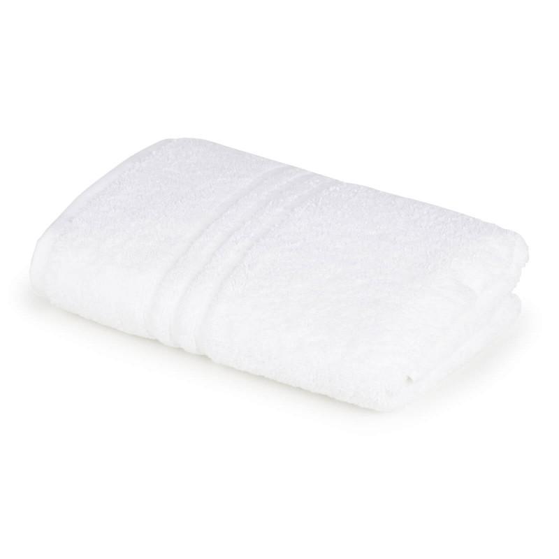 Peškir od mekanog i upijajućeg 100% pamuka. Klasični jednobojni peškiri, jednostavnog izgleda. Bela boja.