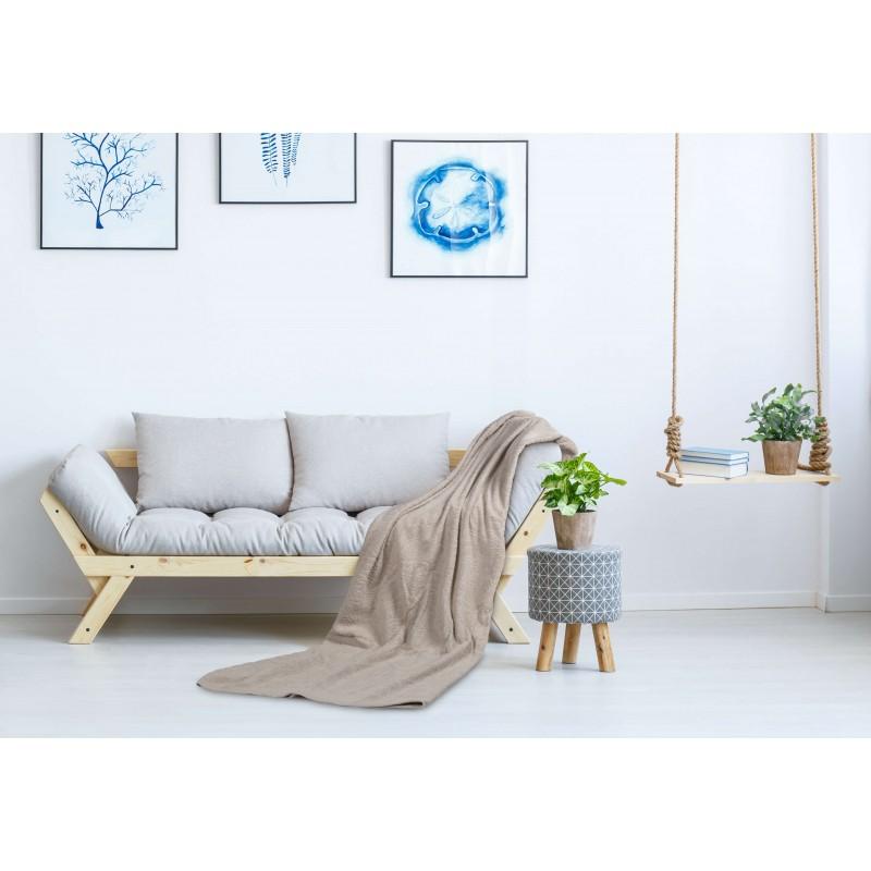 Prekrivač Svilanit Lux Orion je izrađen od 100% pamučnog frotira i namenjen različitim načinima upotrebe: dekorativni prekrivač, zaštita od prašine, podloga na plaži, prekrivač za krevet, letnji pokrivač. Dimenzija: 155x200 i 200x250 cm. Bež boja.