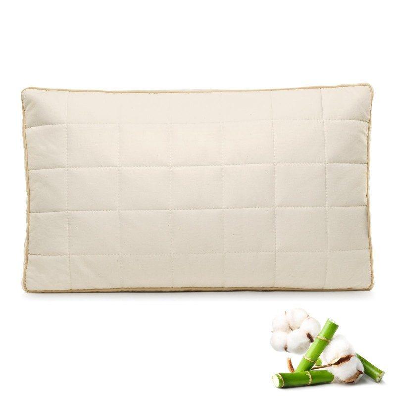 Klasični jastuka za sve položaje My First Pillow, pogodan je za decu od prve godine života, kao i za onu malo stariju, jer je jastuk podesiv po visini i tvrdoći. Kombinacija nebeljenog pamuka i prirodnih bambusovih vlakana u navlaci, razvijena je posebno za osetljivu dečiju kožu. Jastuk je potpuno periv na 60 °C.