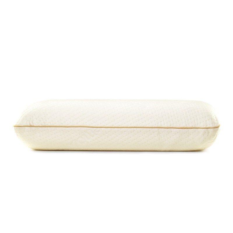 Klasični jastuka od memorijske pene MemoDream, sigurno će vas uveriti svojom svestranošću, jer je pogodan za sve položaje spavanja. Memorijska pena kombinuje prednosti i karakteristike klasičnih jastučića i jastuka od lateksa. Savršeno se prilagođava obliku i pritisku tela, savršeno podupire vrat i kičmu i opušta telo tokom spavanja. Navlaka se skida i pere na 40 °C.
