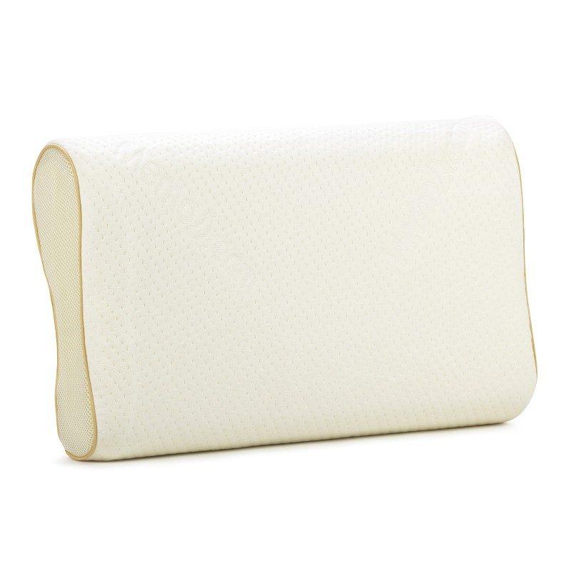 Anatomski jastuk od memorijske pene MemoDream, pogodan je za sve koji spavaju uglavnom na boku ili leđima. Memorijska pena kombinuje prednosti i karakteristike klasičnih jastuka i jastuka od lateksa. Savršeno se prilagođava obliku i pritisku tela, savršeno podupire vrat i kičmu i opušta telo tokom spavanja. Navlaka se skida i pere na 40 °C.