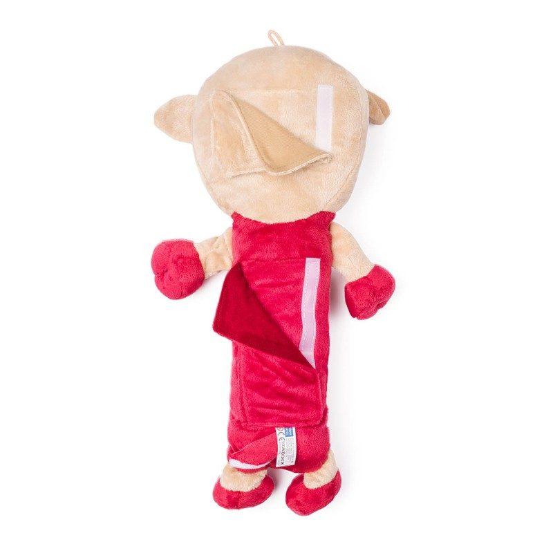 Deca ga obožavaju! Mekani jastučić za putovanje, koji je pre svega odlična zaštita za sigurnosni pojas, ali i lepa igračka za vaše dete. Sa motivom ovčice.
