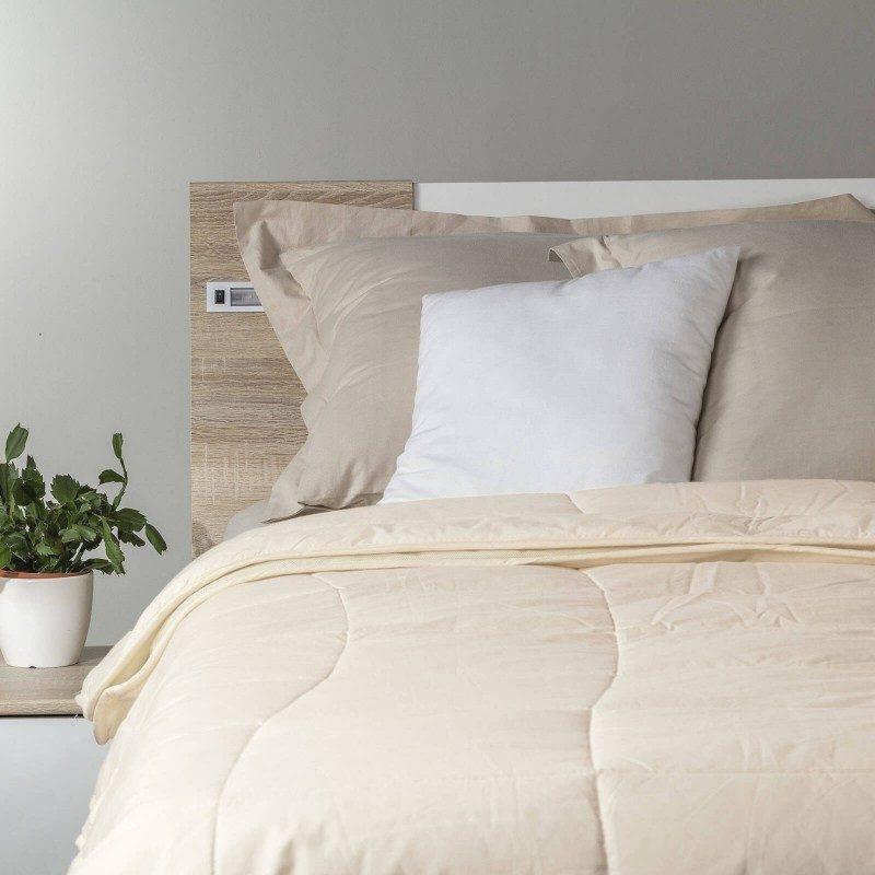 Set od dva pokrivača Bamboo 4 Seasons od bambusovih vlakana, oduševiće vas udobnošću u svim godišnjim dobima. Kombinacija visokokvalitetnih mikrovlakana i prirodnih bambusovih vlakana, sa izuzetnim kapacitetom odvajanja vlage i apsorpcije, pruža komfor onima koji se mnogo znoje tokom sna. Pokrivači se potpuno mogu oprati na 40 °C.