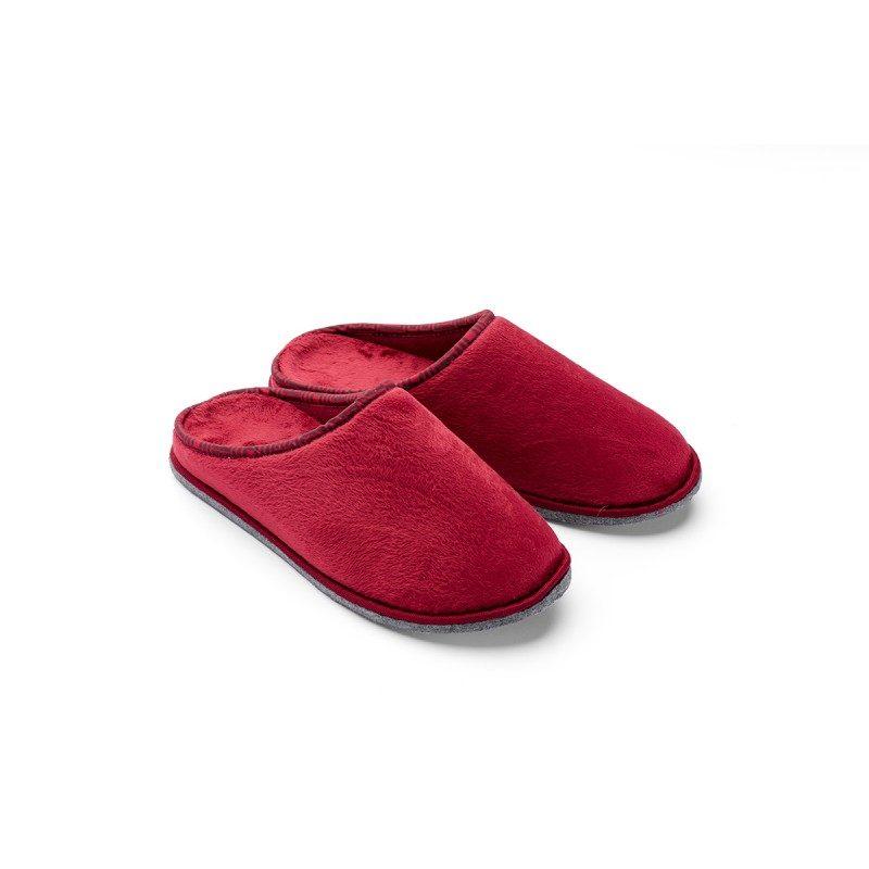 Muške kućne papuče Soft Touch su izuzetno mekane i udobne. Dostupne u više veličina. Crvena boja.