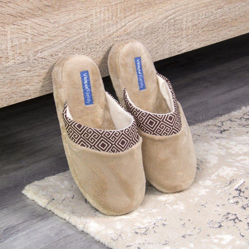 Ženske kućne papuče SoftTouch su izuzetno mekane i udobne. Dostupne u više veličina. Bež boja.