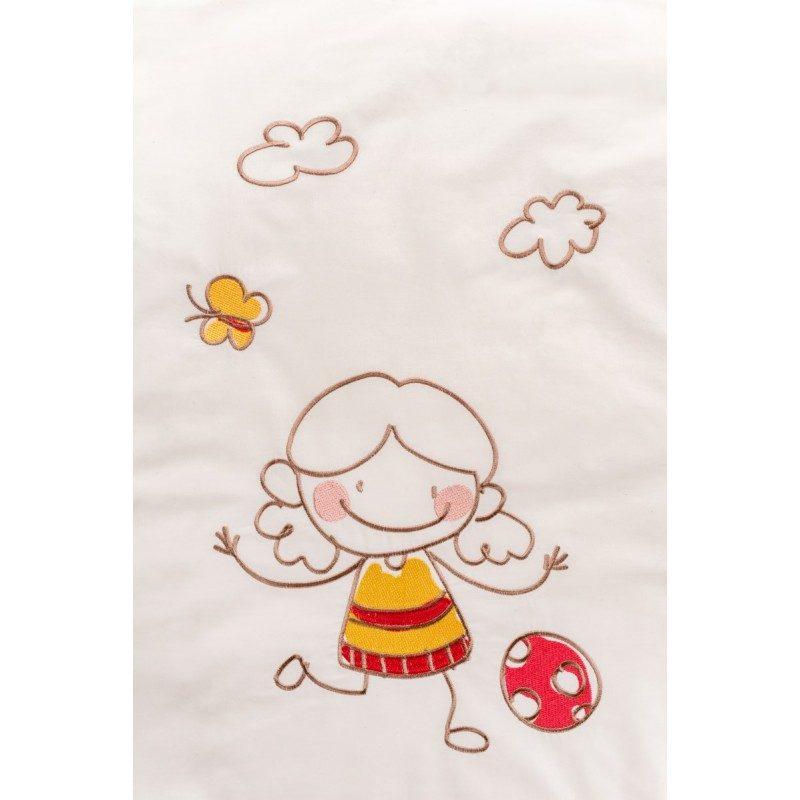 Posteljina Junior Dream od nebeljenog pamuka je posteljina kakva je potrebna nežnoj dečijoj koži. Posteljina sadrži jorgansku navlaku i jastučnicu.