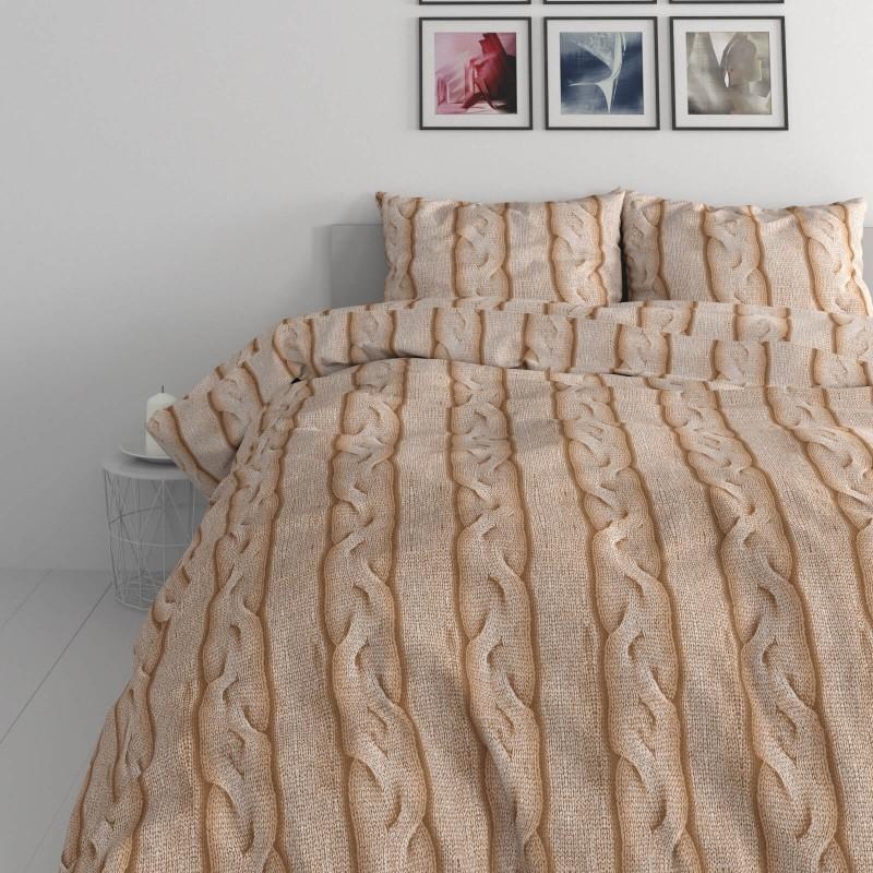 Vreme je za potpuno uživanje u modernim pamučnim posteljinama! Posteljina Braid Cable napravljena je od renforce platna, koje se smatra mekanom tkaninom i lakom za održavanje. Očaraće vas modernim dizajnom sa motivom pletenice. Posteljina je periva na 40 °C.