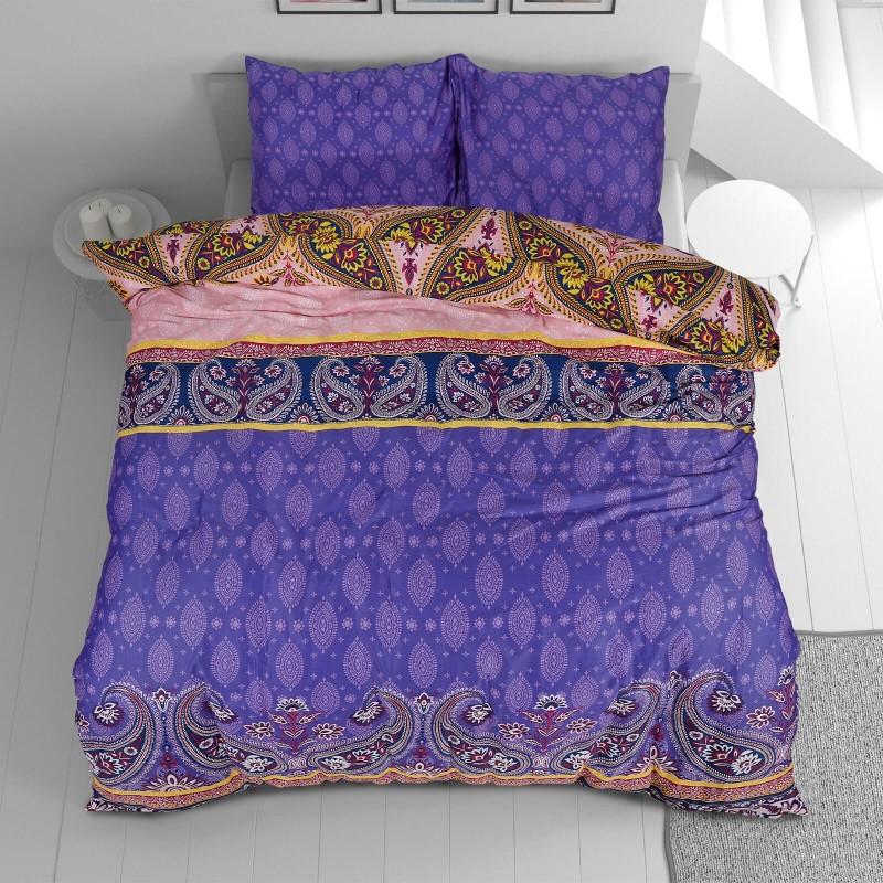 Vreme je za potpuno uživanje u modernim pamučnim posteljinama! Posteljina Paisley je satkana od visokokvalitetnog, tankog i mekanog pamučnog satena. Posteljina od satena je čudesan ukras vaše spavaće sobe, a u isto vreme odličan izbor za udoban i ugodan san. Neka vas očara klasični dizajn prestižnog izgleda. Jastuci imaju poseban rub, koji poboljšava veličanstven izgled. Posteljina se može oprati na 40 °C.