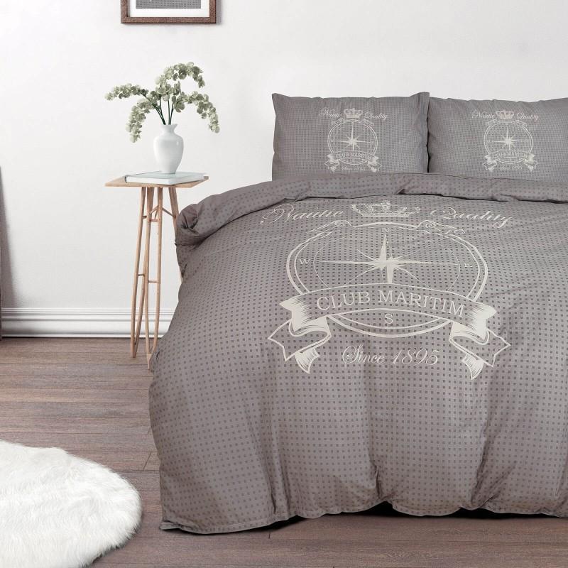 Vreme je za potpuno uživanje u modernim pamučnim posteljinama! Posteljina Azimut od renforce platna, mekane tkanine, jednostavna za održavanje. Posteljina je periva na 40 °C.