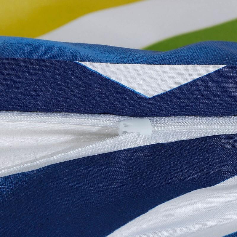 Vreme je za potpuno uživanje u modernim pamučnim posteljinama! Posteljina Megan napravljena je od renforce platna, koje se smatra mekanom tkaninom i lakom za održavanje. Očaraće vas modernim dizajnom sa živopisnim printom. Posteljina je periva na 40 °C.