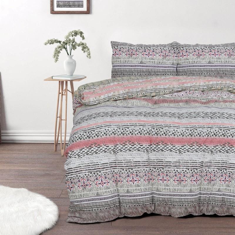 Vreme je za potpuno uživanje u modernim pamučnim posteljinama! Posteljina Route od renforce platna, mekane tkanine, jednostavna za održavanje. Očarati će vas moderan dizajn sa mornarskim motivom. Posteljina je periva na 40 °C.