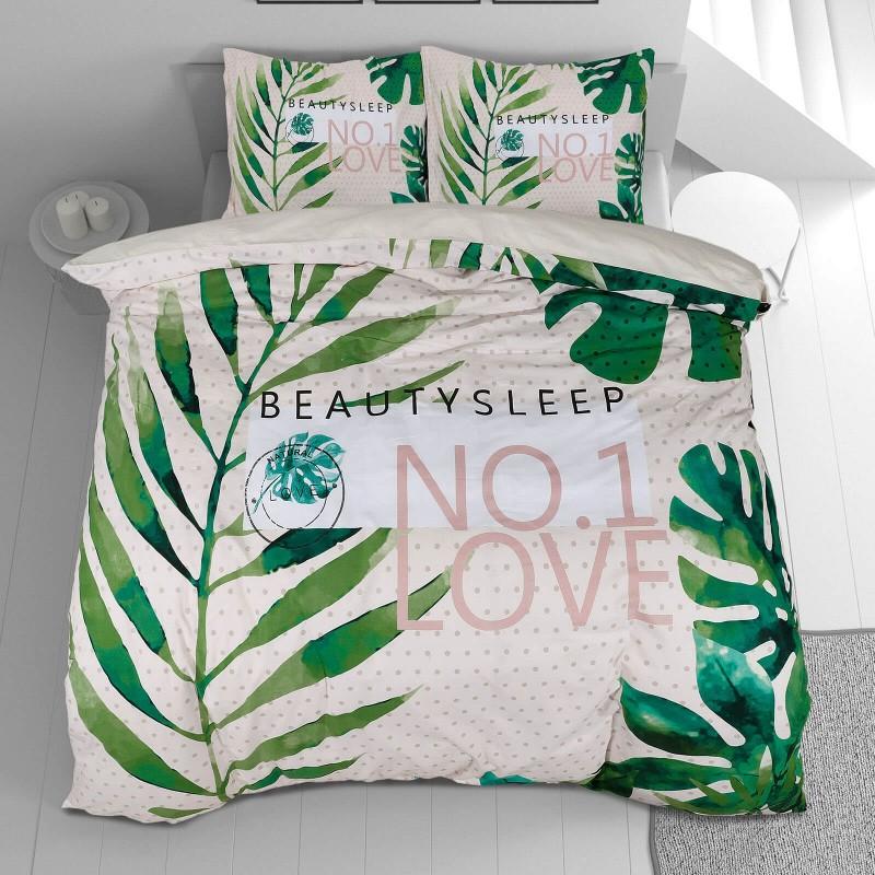 Vreme je za potpuno uživanje u modernim pamučnim posteljinama! Posteljina Beauty Sleep od renforce platna, mekane tkanine, jednostavne za održavanje. Neka vas oduševi moderan dizajn sa uzorkom listova za udoban i ugodan san. Posteljina je periva na 40 °C.