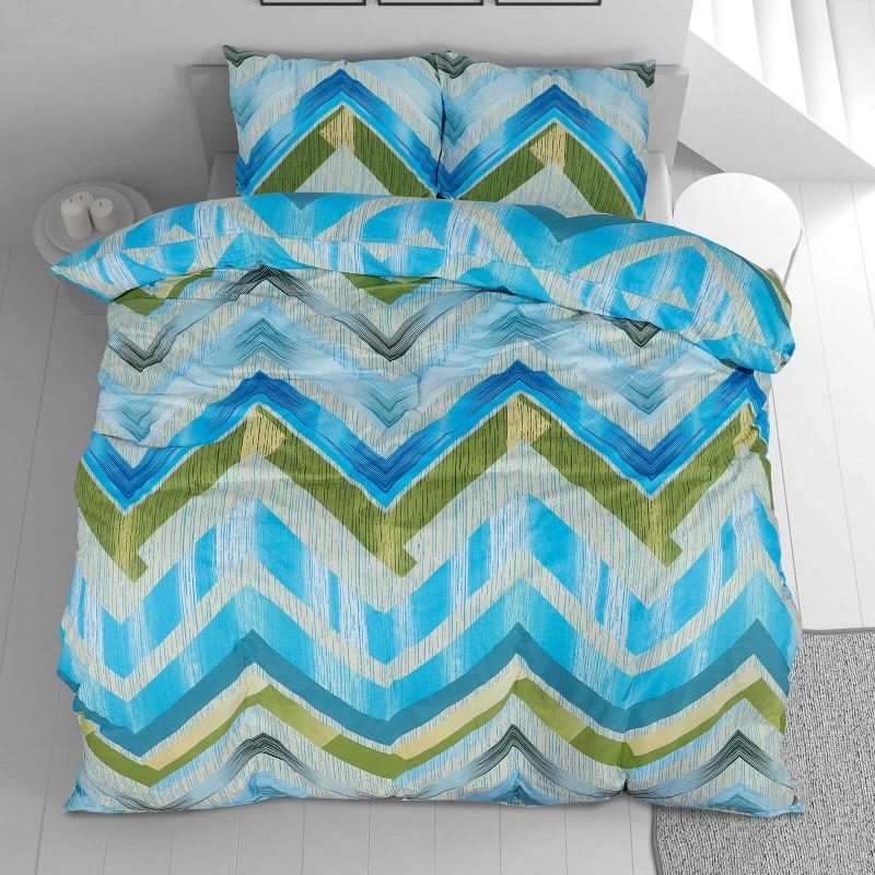 Vreme je za potpuno uživanje u modernim pamučnim posteljinama! Posteljina Svilanit Ava napravljena je od renforce platna, koje se smatra mekanom tkaninom i lakom za održavanje. Očaraće vas modernim dizajnom sa crtama. Posteljina je periva na 40 °C.