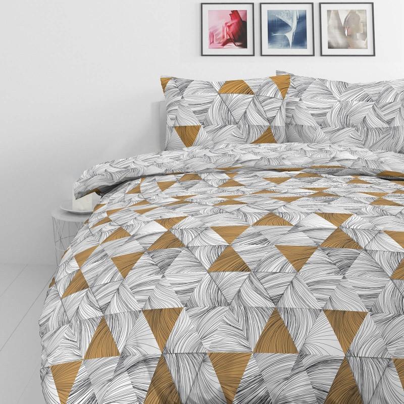 Vreme je za potpuno uživanje u modernim pamučnim posteljinama! Posteljina Tri Drawn od mekanog pamučnog satena, koji je satkan od visokokvalitetnog, tankog tkanja. Posteljina od satena je prekrasan ukras vaše spavaće sobe, a u isto vrijeme odličan izbor za udoban i ugodan san. Posteljina je periva na 40°C.