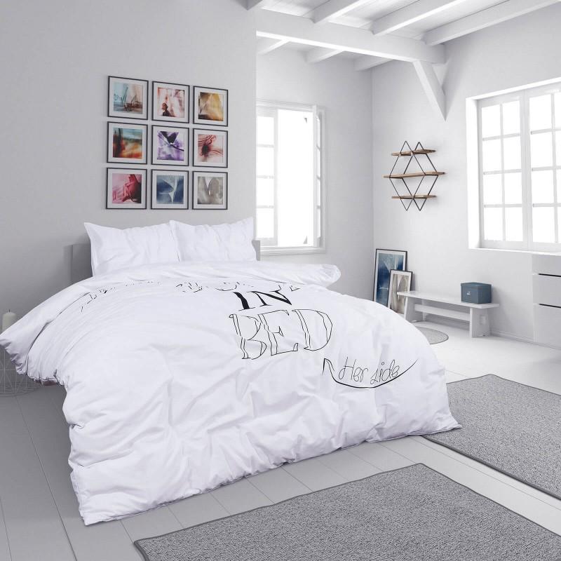 Vreme je za potpuno uživanje u modernim pamučnim posteljinama! Posteljina Svilanit Jump in Bed napravljena je od renforce platna, koje se smatra mekanom tkaninom i lakom za održavanje. Očaraće vas modernim dizajnom. Posteljina je periva na 40 °C.