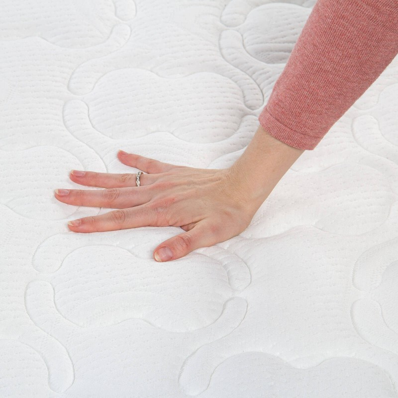 5-zonski dušek Hitex Spring Air Comfort visine 22 cm, pruža vašem telu potpunu podršku i udobnost, tako da ćete ujutru biti odmorni i naspavani. Nezavisne džepičaste opruge u kombinaciji sa dodatnim slojem filca u jezgru i hladno valjanom penom u tri sloja, osiguravaju pravilan položaj tela i opuštajući san.