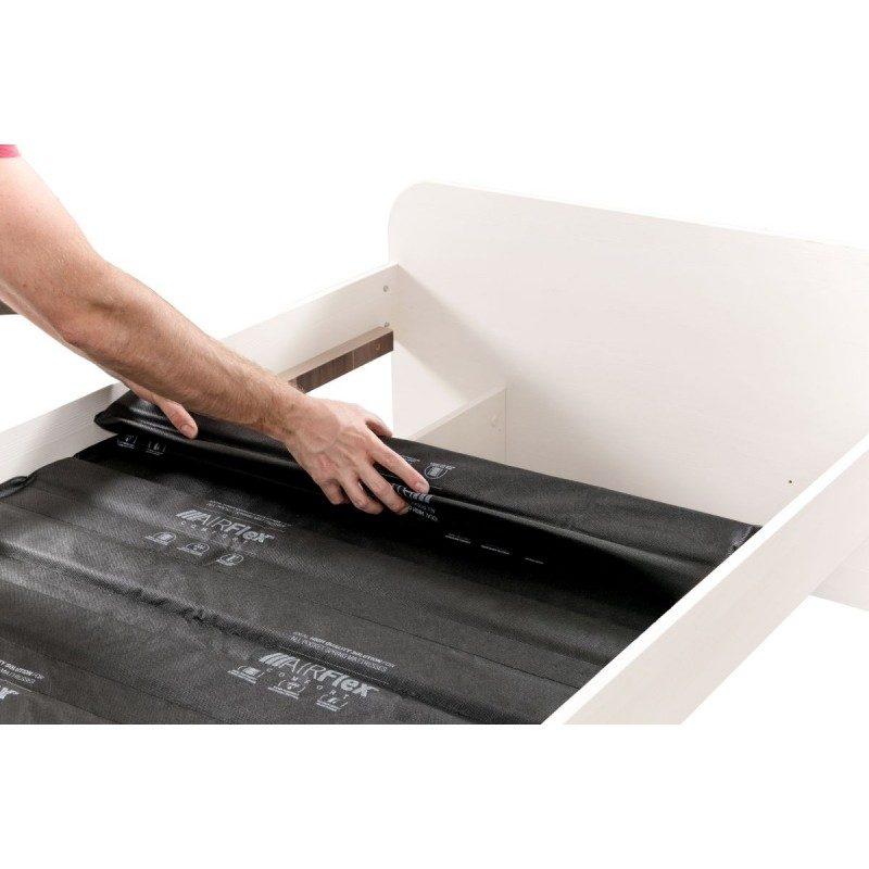 Izuzetno izdržljive fiksne AirFlex Comfort letvice, osiguravaju pravilnu podršku dušeku i produžavaju mu vek trajanja. Sastoje se od 12 punih smrekovih letvica, koje svojom gustinom i masivnošću mogu podneti velika opterećenja. Raspored letvica je dizajniran tako, da pruža optimalnu podršku celom dužinom dušeka. Kombinacija letvice sa izdržljivom tkaninom, pruža idealnu podlogu za sve dušeke sa džepičastim oprugama. Zbog fleksibilnih opruga preporučuje se upotreba fiksnih letvica, jer dvostruka fleksibilnost daje suprotan efekat i ne pruža telu odgovarajuću podršku.