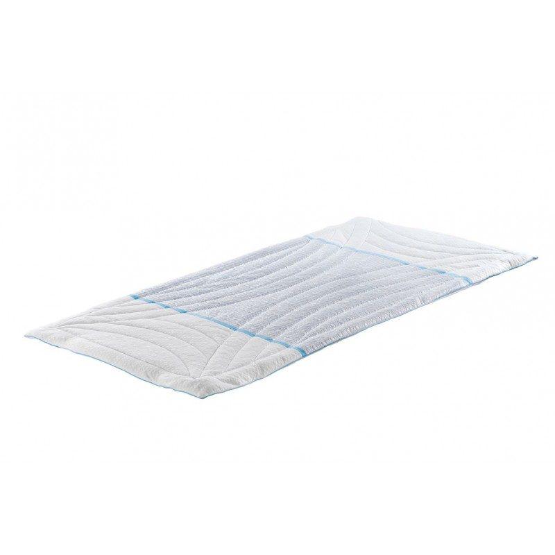 Zaštita za dušek Clima Feel pruža efikasnu zaštitu od mrlja i prljavštine. Vaš postojeći dušek će ponovo postati čist, a novi će dobiti dodatnu udobnost i duži vek trajanja. Sastav zaštite je prilagođen za upotrebu u toplijim mesecima. Središnji deo zaštite čini posebna tkanina StayCool®, koja sadrži vlakna za sprečavanje prodora toplote i daju osećaj svežine. Takođe, u hladnijem periodu nećete osetiti hladnoću, jer vlakna regulišu temperaturu. Zaštita je u celosti periva na 40 °C.