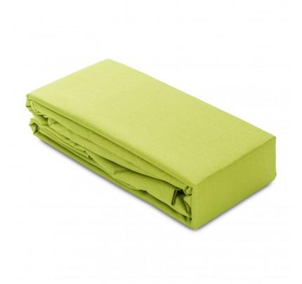 Elastični čaršav Ivonne - zelena