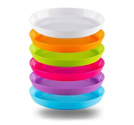 Set plastičnih tanjira 6/1 Rosmarino