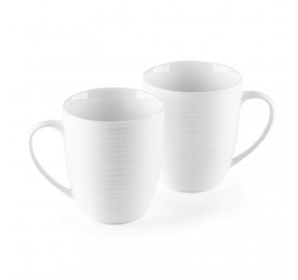 Set 2 porcelanske šolje Rosmarino Cucina Deko - 325 ml