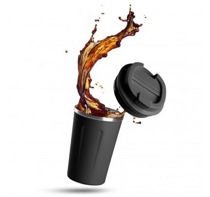 Termos za kafu Rosmarino 350 ml - crni