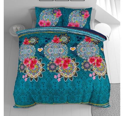 Pamučno-satenska posteljina Svilanit Aisha