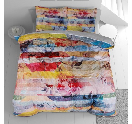 Pamučna posteljina Svilanit Flowers