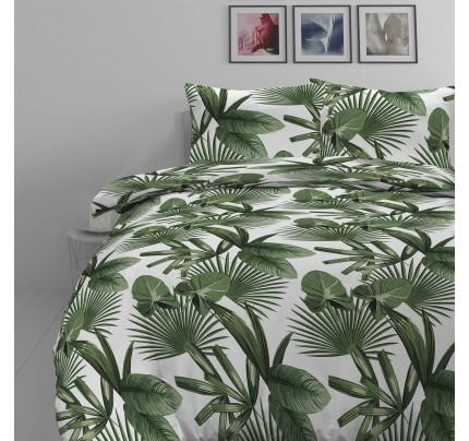 Pamučna posteljina Svilanit Palm Dreams 140x200 + 50x70 cm