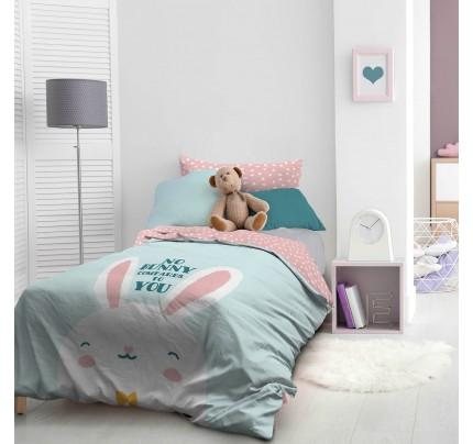 Dečija pamučna posteljina Svilanit Bunny