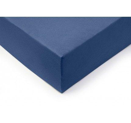 Pamučni elastični čaršav Lyon - teget