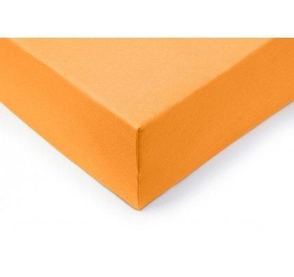 Pamučni elastični čaršav Lyon  - narandžasti