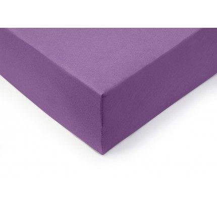 Pamučni elastični čaršav Lyon  - ljubičasti