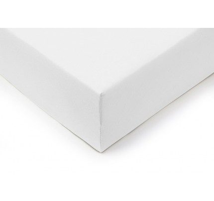 Pamučni elastični čaršav Lyon - beli