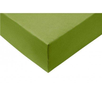 Pamučni elastični čaršav Lyon - zeleni