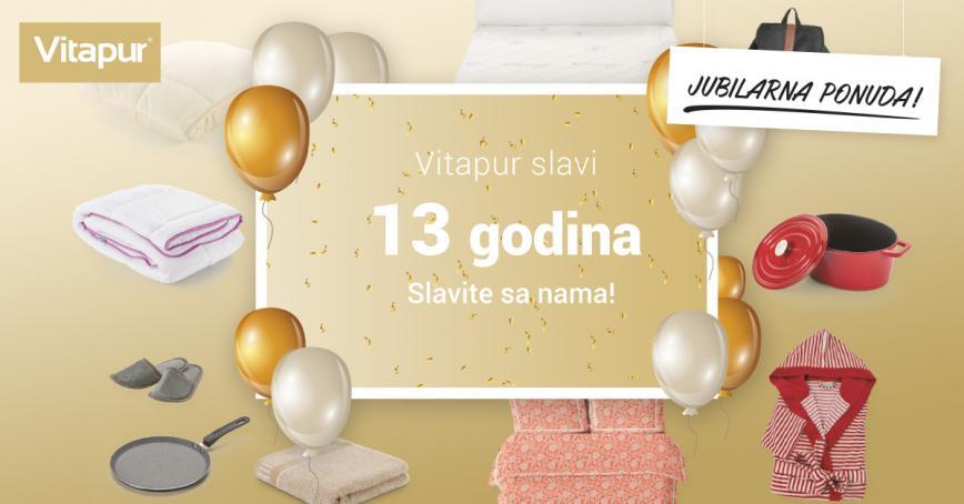 VITAPUR slavi 13 godina!