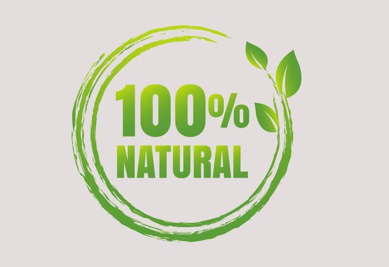 Kombinacija 100% prirodnih materijala
