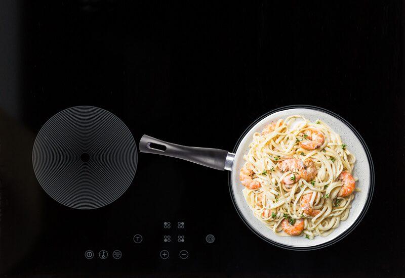 Primerena za upotrebu na svim površinama za kuvanje, uključujući indukcionu