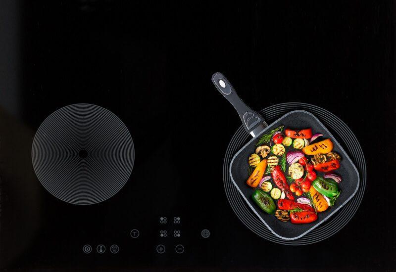 Primereno za sve površine za kuvanje, pa i indukcija